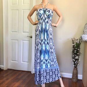 Tommy Bahama Women's Halter Maxi Dress Size M